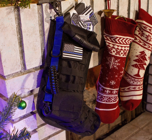 Blue Line Tactical Stocking w/ FREE Blue Line Patch
