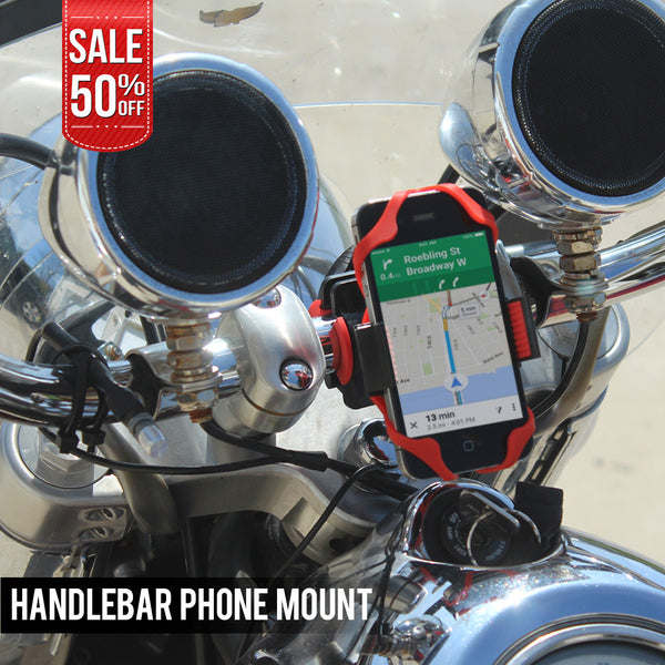 Motorcycle Handlebar Phone Mount