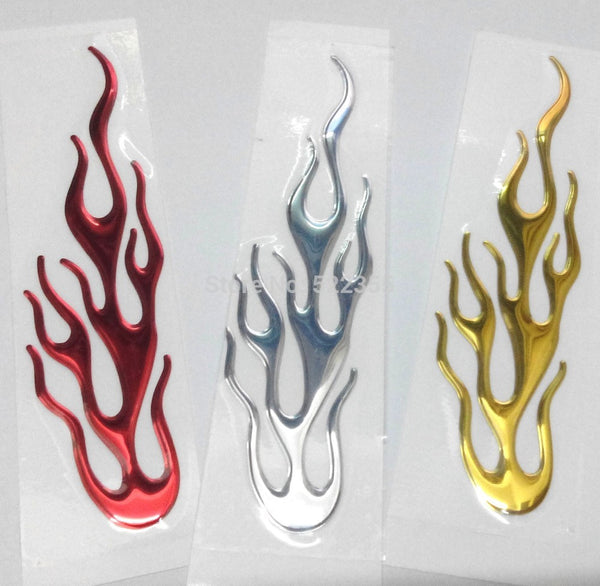 3D Flame Sticker