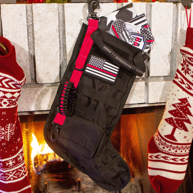 Red Line Tactical Stocking w/ FREE Red Line Patch