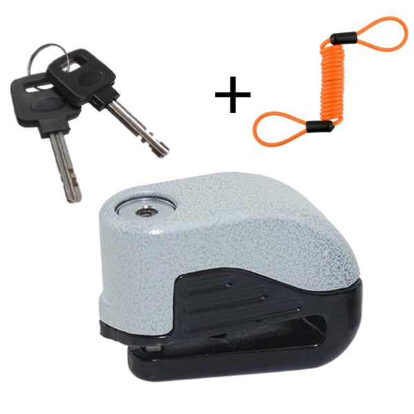 Alarm Disc Lock + FREE Reminder Cable