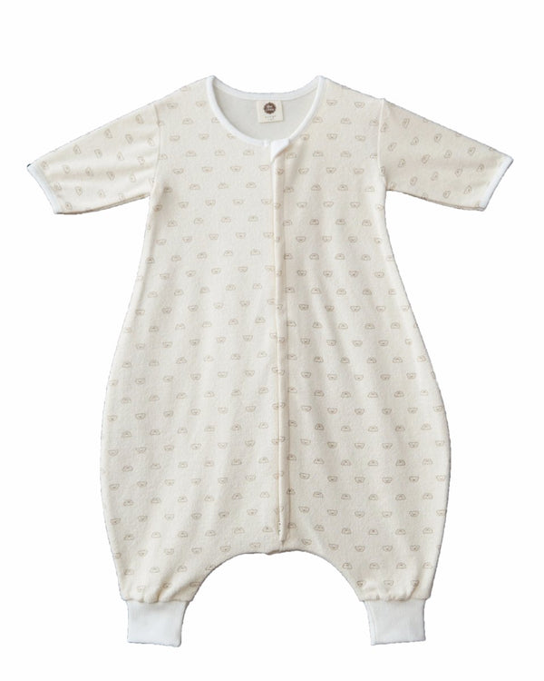 Terry Teddy Bear Sleep Sack-Sleepwear, Sleep sack-benne bonbon