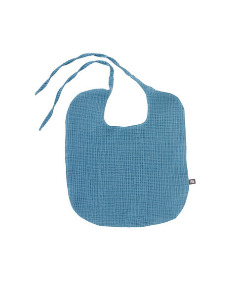 Go Big Gauze Absorbent Cotton Bib, 4 Colors - benne bonbon