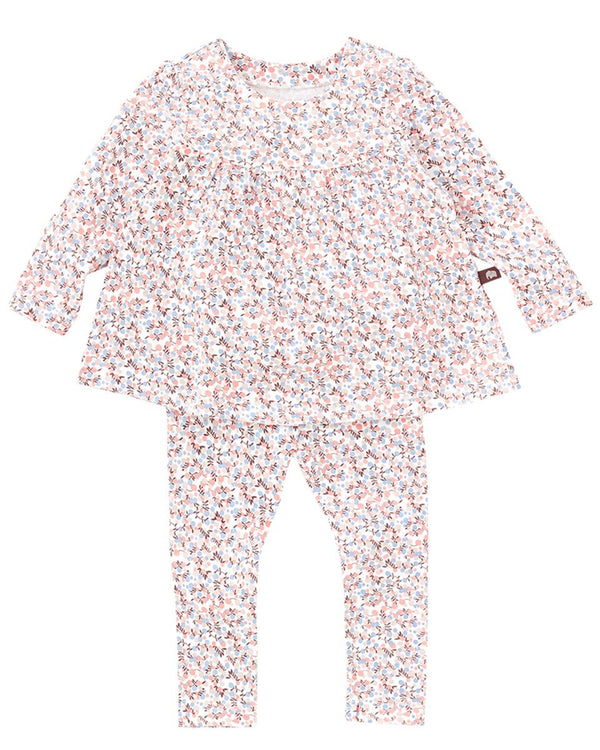 Lady Flower 2-Piece Sleepware Pajama Set-Sleepwear, Pajama-benne bonbon