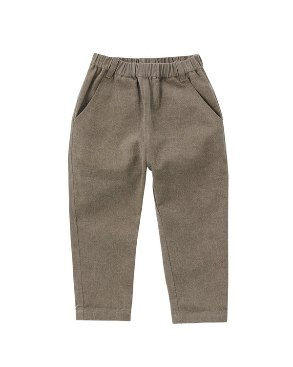 Grass Baggy Chino Pants-Bottom, Pants-benne bonbon