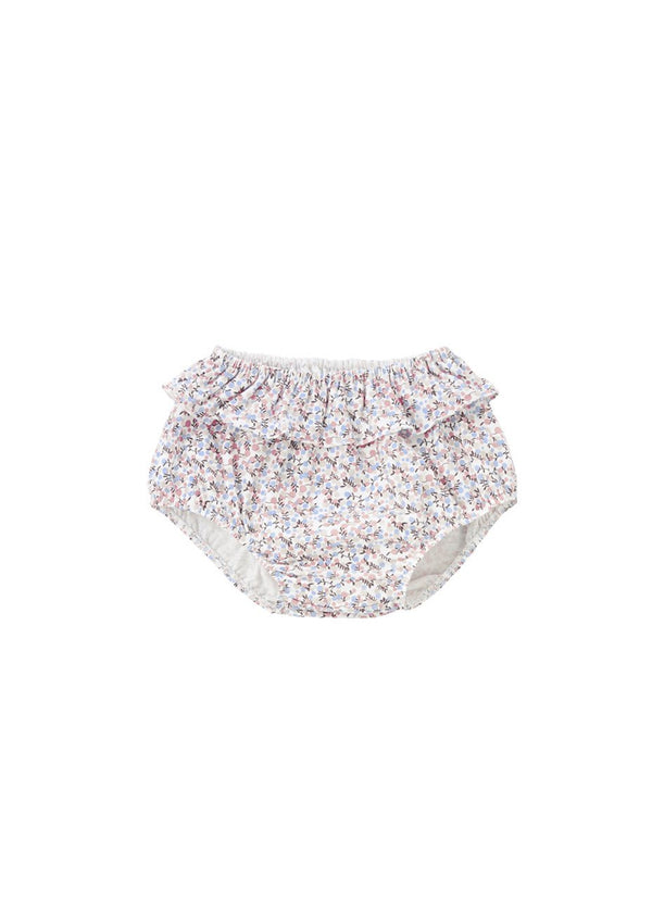 Petit Fruit Ruffled Diaper Cover Bloomer, Pink-Acc, Bloomer-benne bonbon