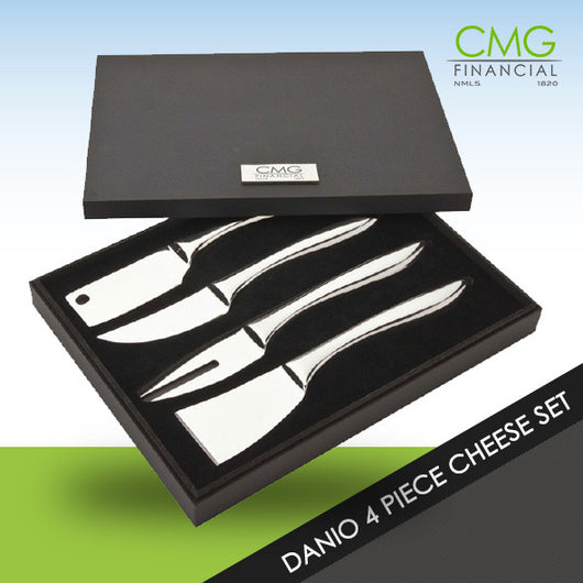 CMG Danio 4 Piece Cheese Set