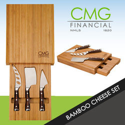 CMG Bambu Bamboo Cheese Set