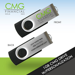 CMG 1GB Drive w/ Personalize Option - Minimum Order of 25