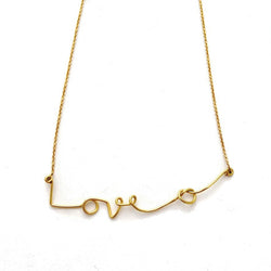 Love Knot Necklace -  Chorthip