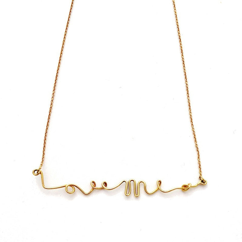 Love Me Knot Necklace -  Chorthip