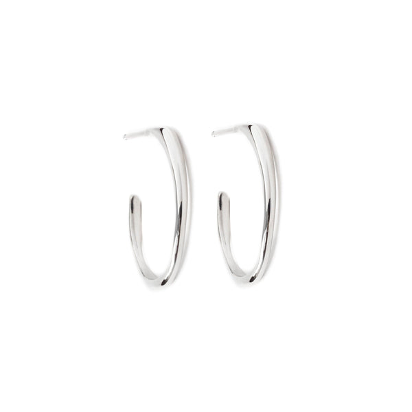 Small Raindrop Hoop Earrings - Earrings Chorthip
