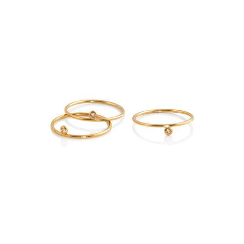Helix Stacking Ring Set - Ring Chorthip