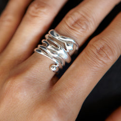 Multi Raindrop Ring - Ring Chorthip