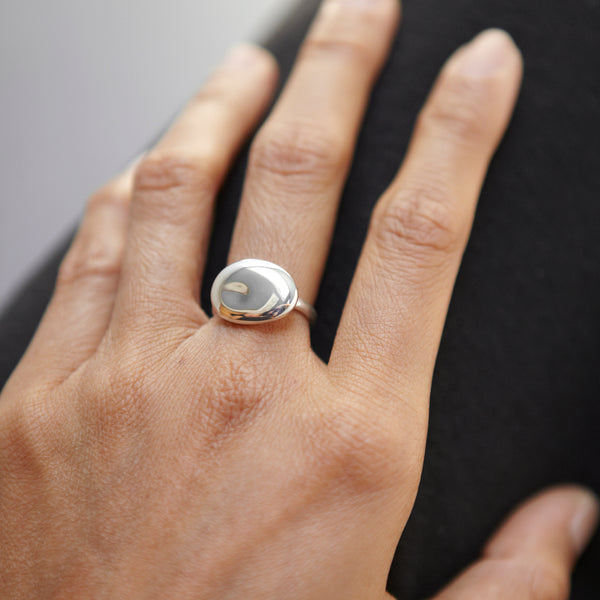Pebble Stone Ring - Ring Chorthip