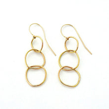 Tripple Link Earring - Earrings Chorthip