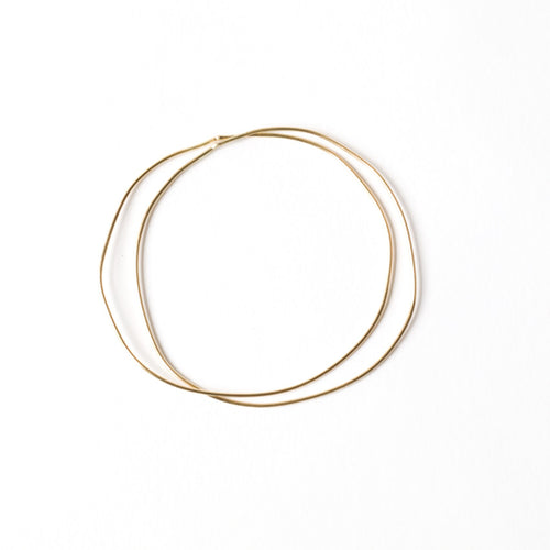 Double Link Wave Bangle - Bangle Chorthip