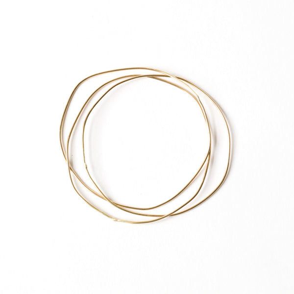 Triple Link URS Gold Bangle - Bangle Chorthip