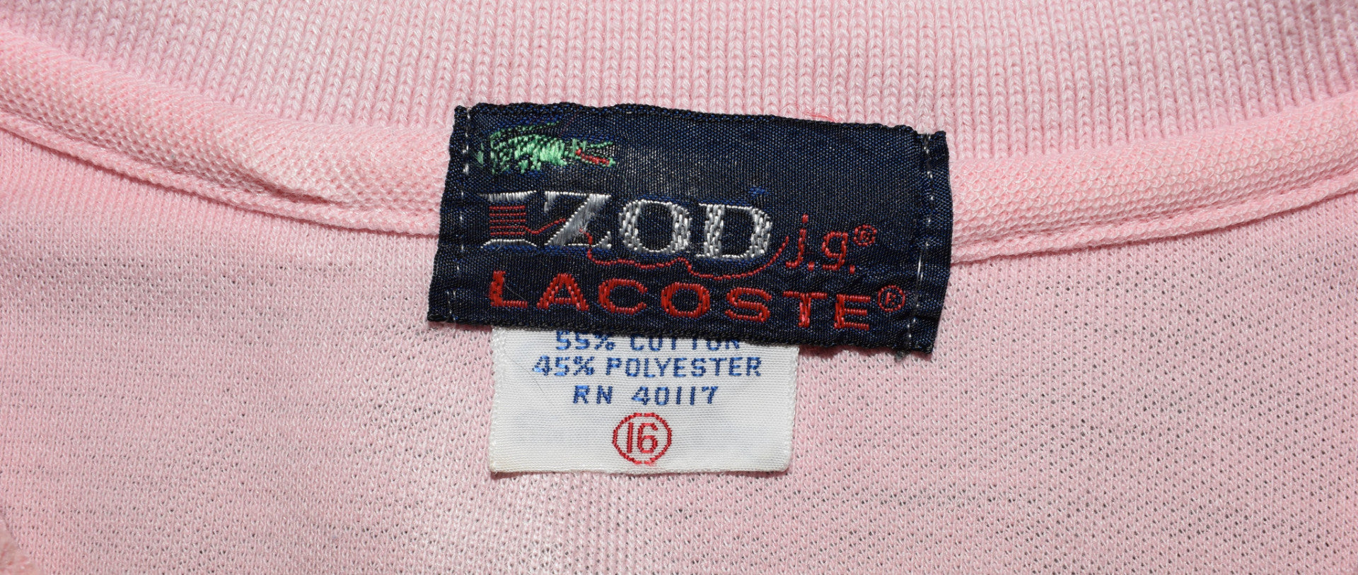 a7dc76bb 1980's vintage Lacoste polo t- shirt 'XS' – wehadtovintage.com