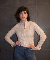 1970's vintage H Bar C California Clothing 30 ruffles western shirt 'S'