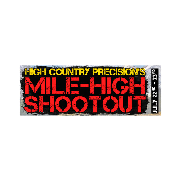 Team Bison Tactical at High Country Precision's Mile High Shootout
