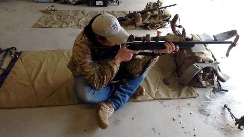 Long Range Precision Rifle Practical Field Shooting: Day 1