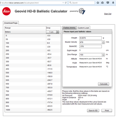 How To Setup Your Leica HD-B Ballistic Calculator | Bison