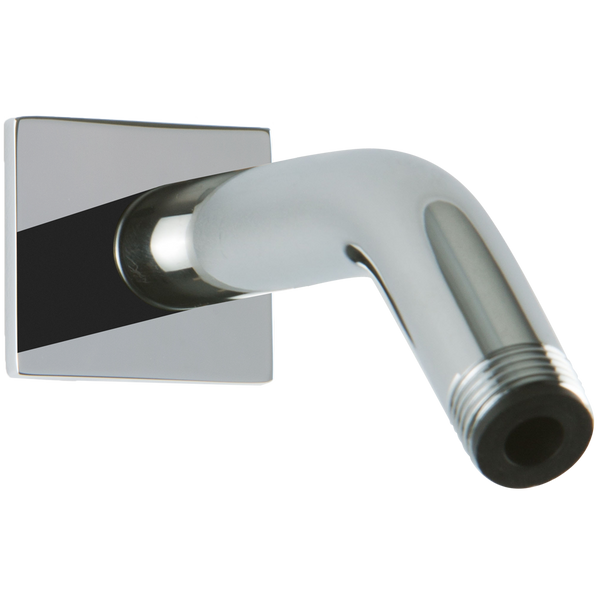 Wall Mount Angled Shower Arm R+S Escutcheon