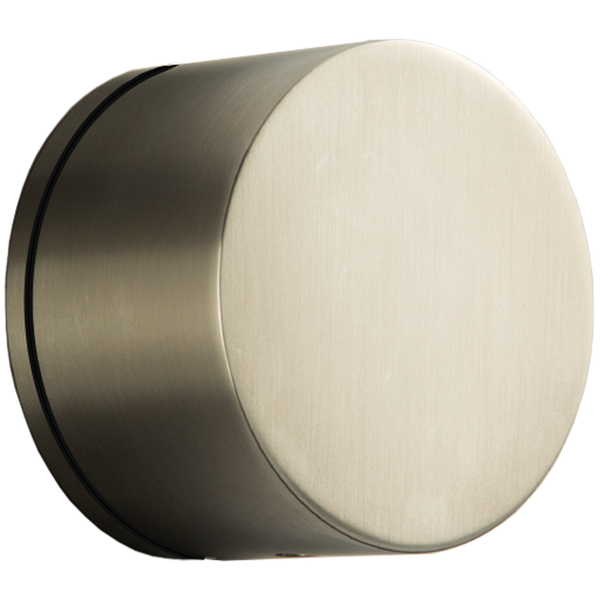 Borhn Brushed Nickel Volume Control Trim Kit, Round Handle with Equal Plate Escutcheon B51406