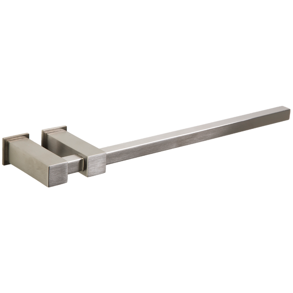 "Borhn Gazolla Square 12"" Towel Bar with Square Escutcheon Brushed Nickel B51561"