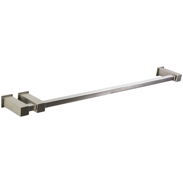 "Borhn Gazolla Double Post 24"" Towel Bar Brushed Nickel B51567"