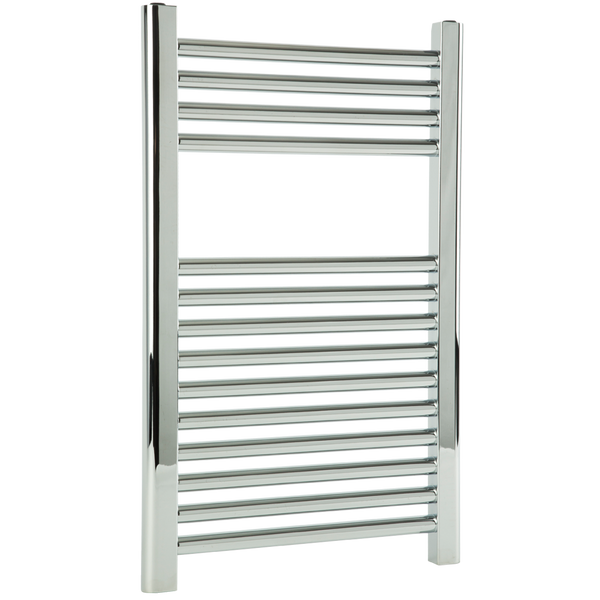 "Borhn Napoli Chrome Hydronic Wall Mount Towel Warmer 27""x 18"" B51580"
