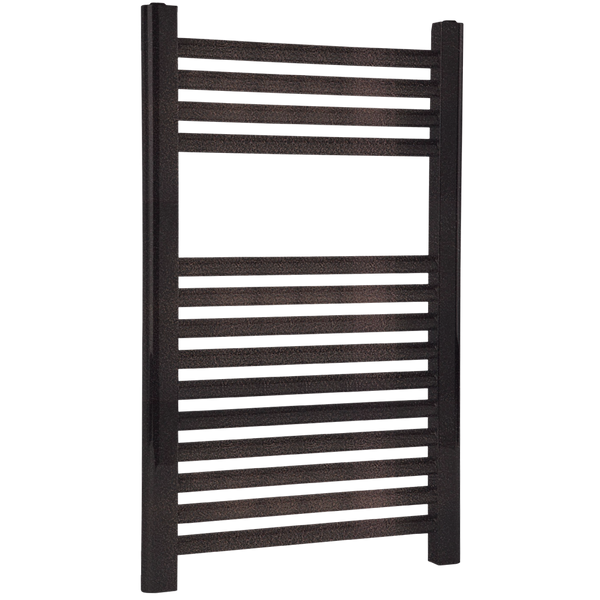 "Borhn Napoli Oil Rubbed Bronze Hydronic Wall Mount Towel Warmer 27""x 18"" B51581"