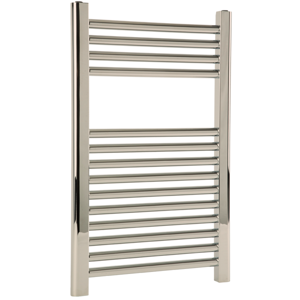 "Borhn Napoli Polished Nickel Hydronic Wall Mount Towel Warmer 27""x 18"" B51582"