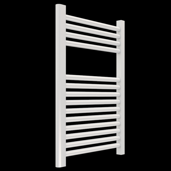 "Borhn Napoli White Hydronic Wall Mount Towel Warmer 27""x 18"" B51583"