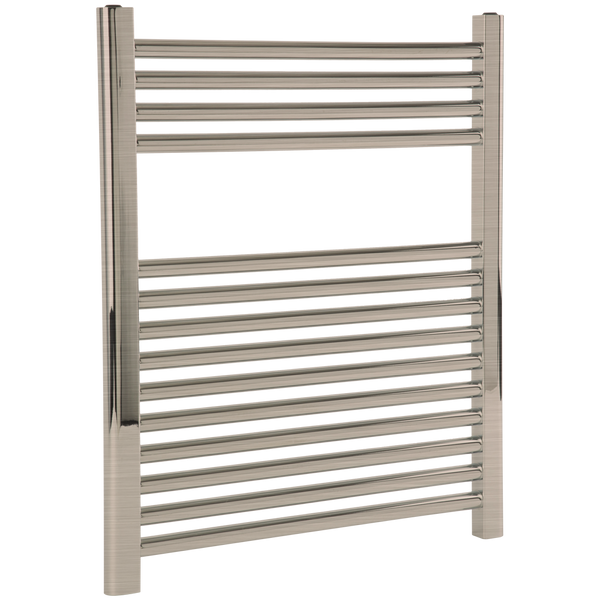 "Borhn Napoli Brushed Nickel Hardwired Wall Mount Towel Warmer 27""x 24"" B51604"