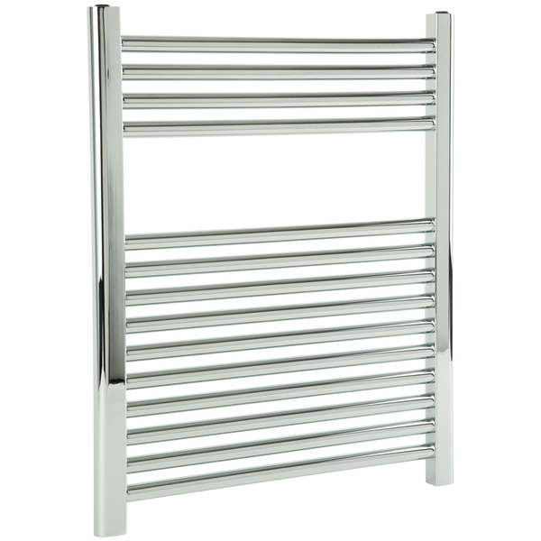 "Borhn Napoli Chrome Hardwired Wall Mount Towel Warmer 27""x 24"" B51605"