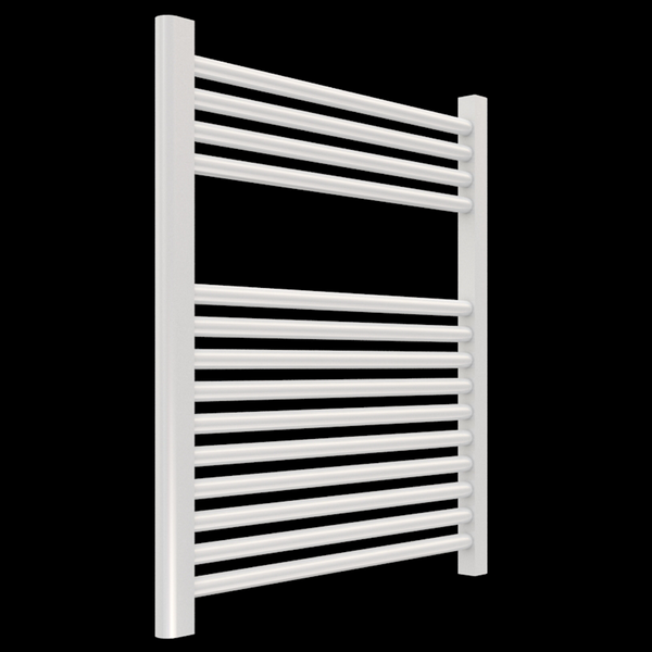 "Borhn Napoli White Hardwired Wall Mount Towel Warmer 27""x 24"" B51608"