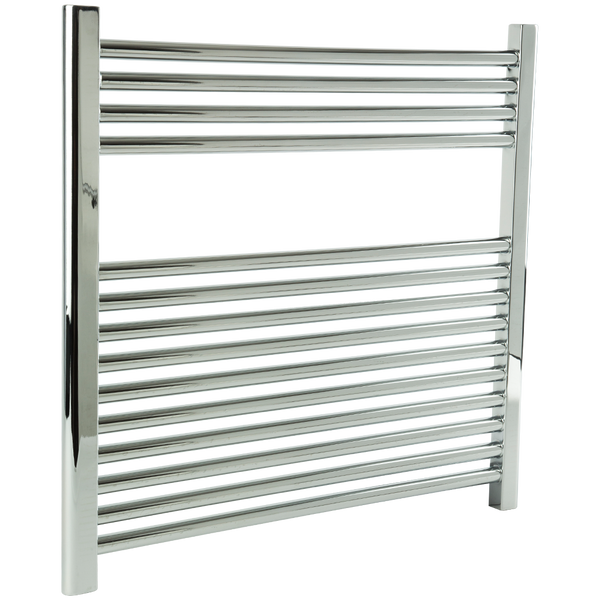 "Borhn Napoli Chrome Hardwired Wall Mount Towel Warmer 27""x 30"" B51620"