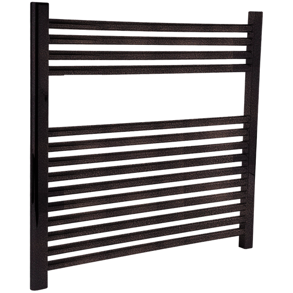"Borhn Napoli Oil Rubbed Bronze Hardwired Wall Mount Towel Warmer 27""x 30"" B51621"