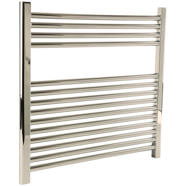 "Borhn Napoli Polished Nickel Hardwired Wall Mount Towel Warmer 27""x 30"" B51622"