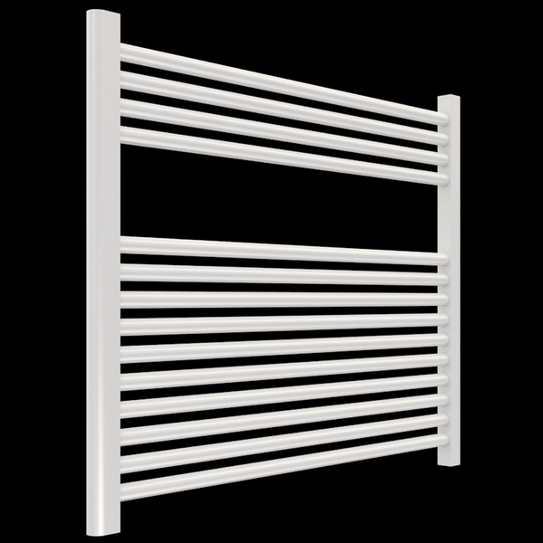 "Borhn Napoli White Plug In Wall Mount Towel Warmer 27""x 30"" B51618"