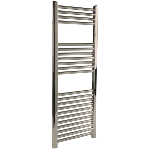 "Borhn Napoli Brushed Nickel Hardwired Wall Mount Towel Warmer 44""x 18"" B51634"