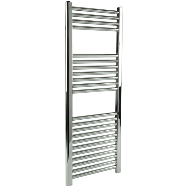 "Borhn Napoli Chrome Hardwired Wall Mount Towel Warmer 44""x 18"" B51635"