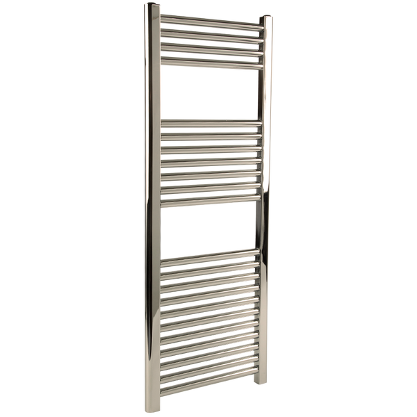 "Borhn Napoli Polished Nickel Hardwired Wall Mount Towel Warmer 44""x 18"" B51637"