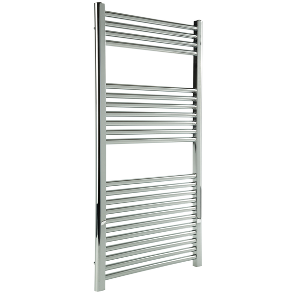 "Borhn Napoli Chrome Hardwired Wall Mount Towel Warmer 44""x 24"" B51650"