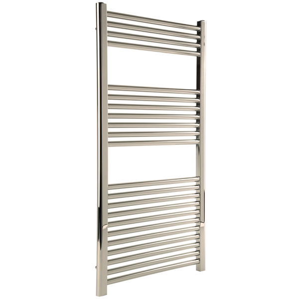 "Borhn Napoli Polished Nickel Hydronic Wall Mount Towel Warmer 44""x 24"" B51642"