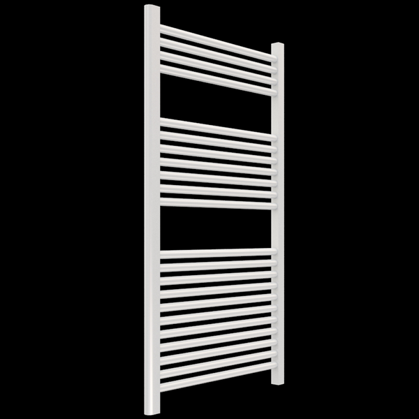 "Borhn Napoli White Hydronic Wall Mount Towel Warmer 44""x 24"" B51643"