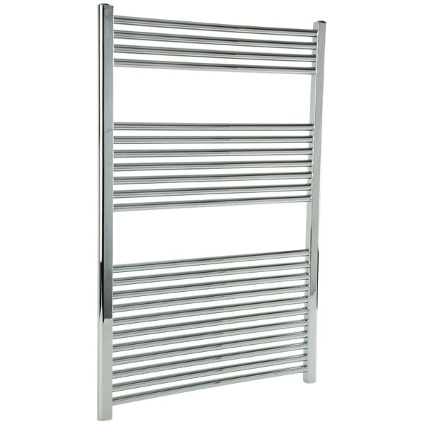 "Borhn Napoli Chrome Hardwired Wall Mount Towel Warmer 44""x 30"" B51665"