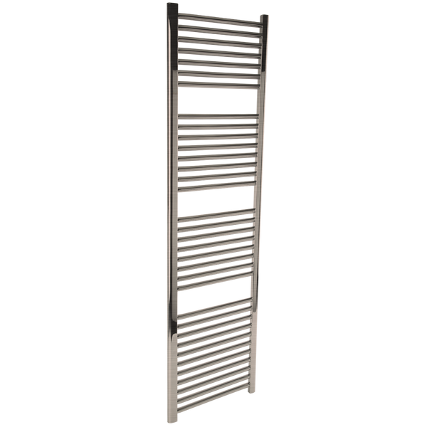 "Borhn Napoli Brushed Nickel Hydronic Wall Mount Towel Warmer 68""x 18"" B51669"